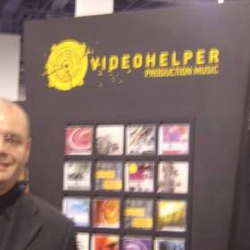 Video Helper Production Music Efeitos e Trilhas (NAB LasVegas)